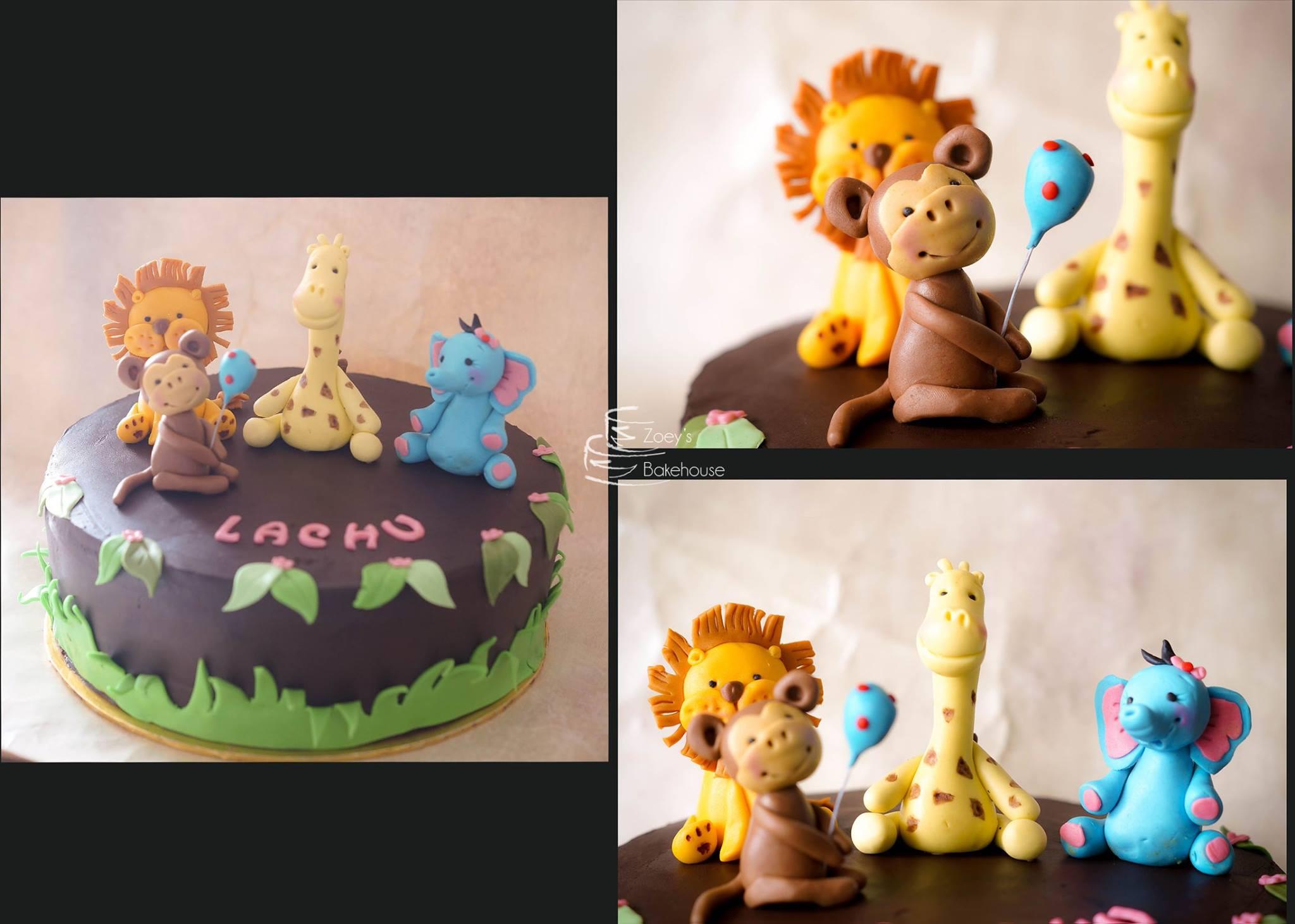 Animal Theme Cake 13
