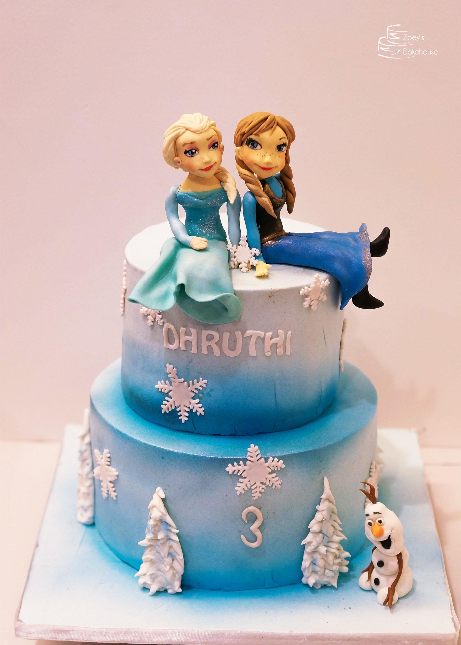 Zoeys bakehouse Princess Birthday Cake Hyderabad